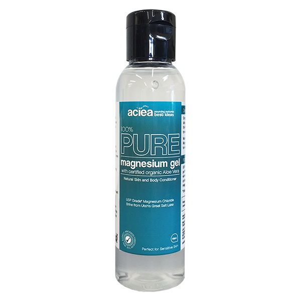 Aciea 100% Pure Magnesium Gel with Aloe Vera 118ml - Supplements.co.nz