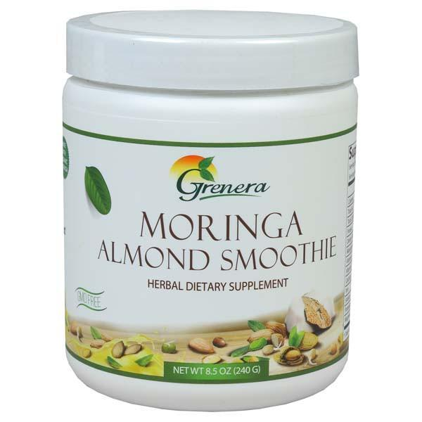 NHT Moringa Smoothie 240g-Physical Product-NHT-Almond-Supplements.co.nz