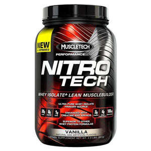 MuscleTech Nitro-Tech 2lb-Physical Product-Muscletech-Vanilla-Supplements.co.nz