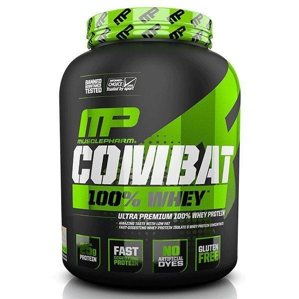 MusclePharm Combat 100% Whey Protein - 5lb-Physical Product-Musclepharm-Supplements.co.nz