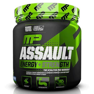 MusclePharm Assault 30 Serves - Supplements.co.nz