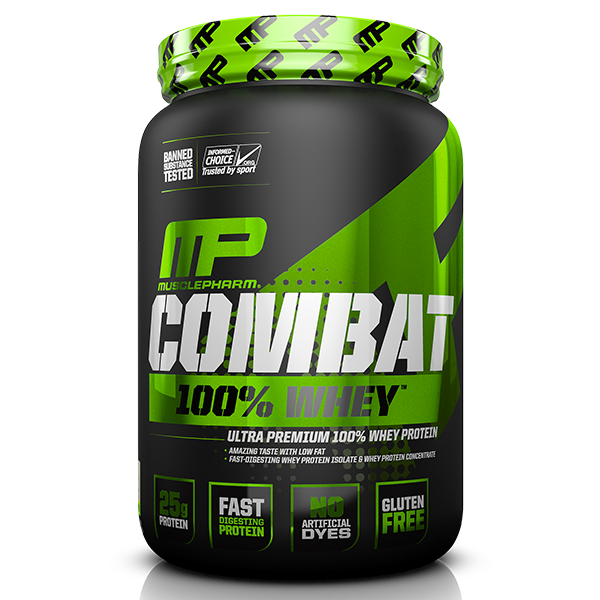 MusclePharm Combat 100% Whey 2lb - Supplements.co.nz