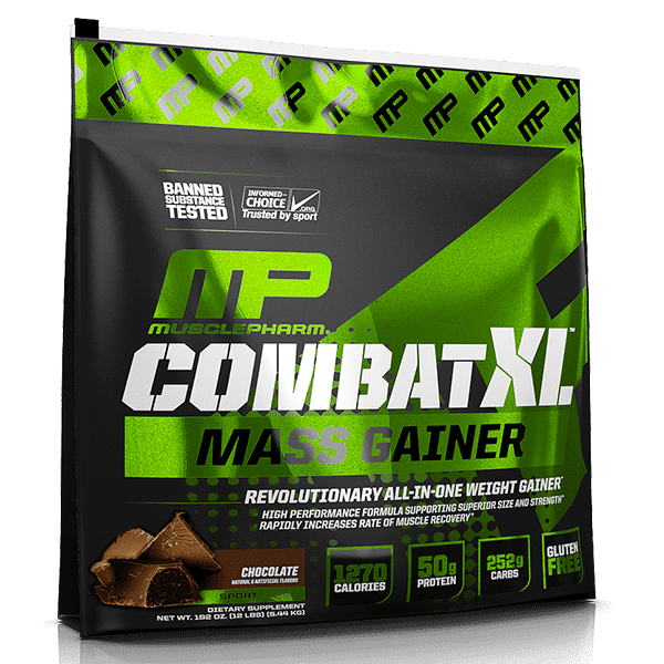 Musclepharm Combat XL Mass Gainer 12lbs-Physical Product-Musclepharm-Chocolate-Supplements.co.nz