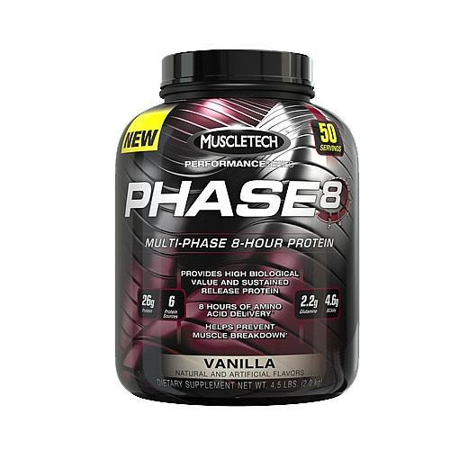 Muscletech Phase-8 4.4lbs-Physical Product-Muscletech-Vanilla-Supplements.co.nz