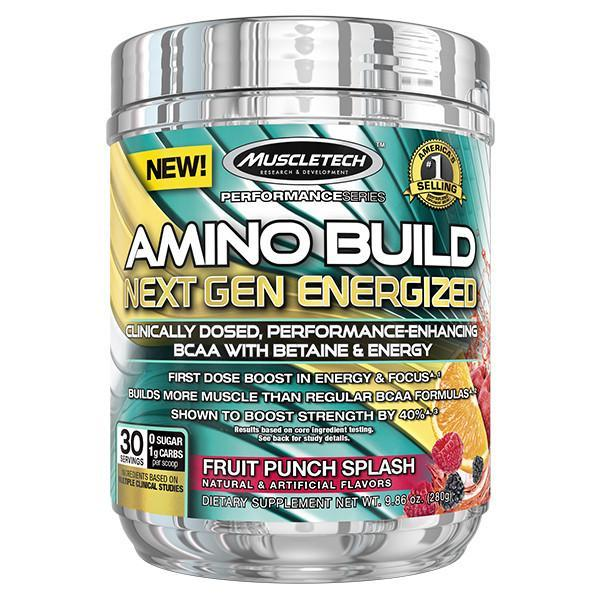 MuscleTech Amino Build Next Gen Energized 30 Servings - Supplements.co.nz