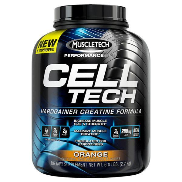 Muscletech Cell-Tech 6lb ( Celltech ) + FREE  MUSCLETECH STRINGER, SHAKER.
