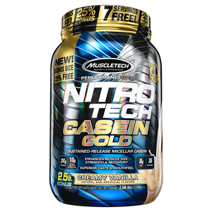 MuscleTech Nitro-Tech Casein Gold 2.5lb - Supplements.co.nz