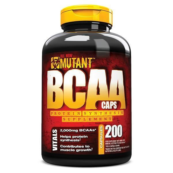Mutant BCAA 200 Caps - Supplements.co.nz