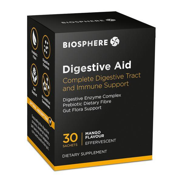 Biosphere Digestive Aid 30 Sachets - Supplements.co.nz