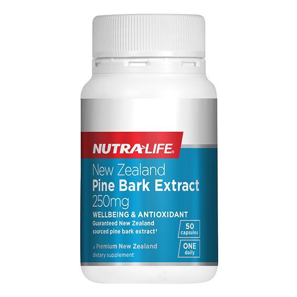 Nutralife NZ Pine Bark Extract 250mg 50 Capsules - Supplements.co.nz