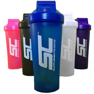 COLOURS Edition Supplements.co.nz Shaker - BPA & DEHP Free - Supplements.co.nz