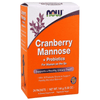Now Foods Cranberry Mannose + Probiotics 24x6g Packets