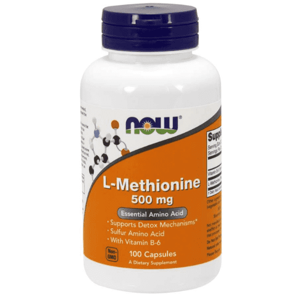 Now Foods L-Methionine 500mg 100 Caps
