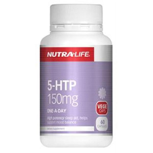 Nutralife 5-HTP 150mg 60 Caps-Physical Product-Nutralife-Supplements.co.nz