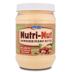BioX Nutri-Nut Powdered Peanut Butter 456g - Supplements.co.nz