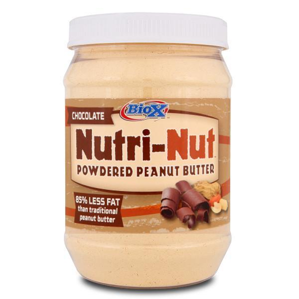 BioX Nutri-Nut Powdered Chocolate Peanut Butter 204g - Supplements.co.nz