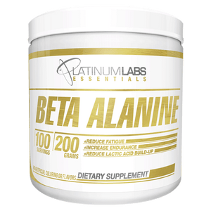 Platinum Labs Essential Beta Alanine 200 gm-Physical Product-Platinum Labs-Supplements.co.nz