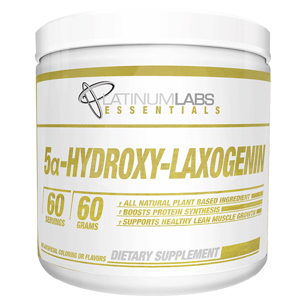 Platinum Labs Essentials 5a-Hydroxy-Laxogenin 60 Serves-Physical Product-Platinum Labs-Unflavoured-Supplements.co.nz
