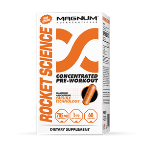 Magnum Rocket Science 60 Capsules - Supplements.co.nz