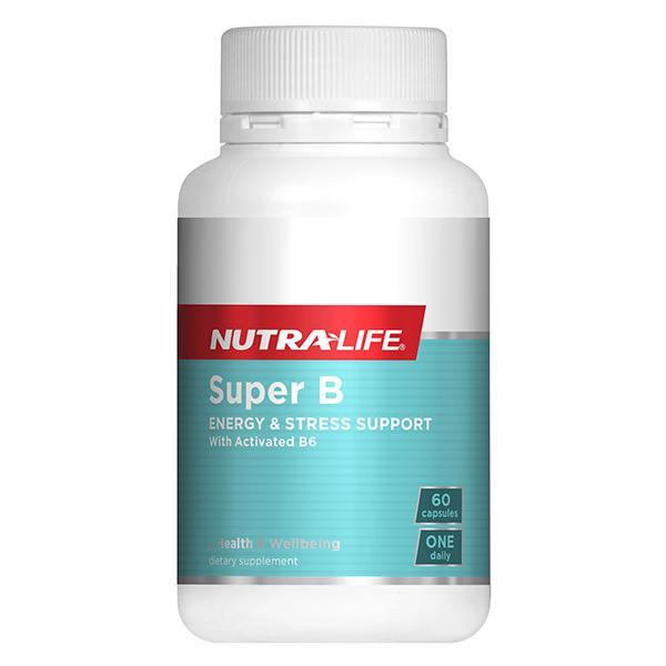Nutralife Super B Premium Formula 60 Caps - Supplements.co.nz
