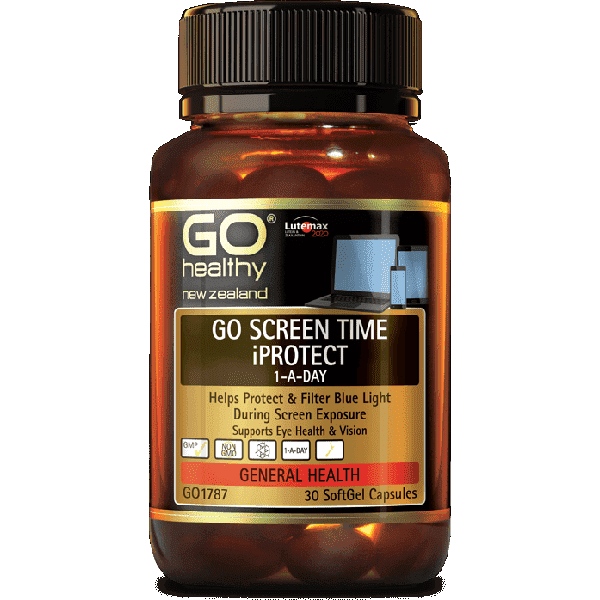 Go Healthy Go Screen Time iProtect 60 Softgels