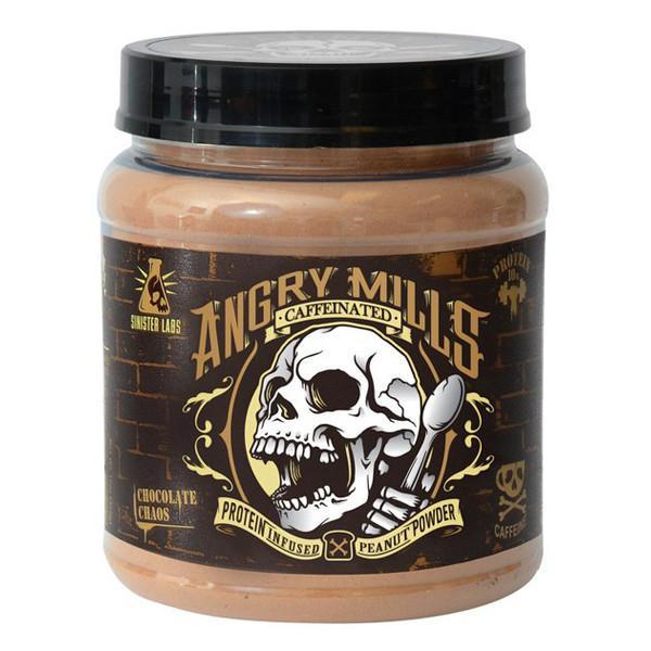 Sinister Labs Chocolate Chaos Powder 20 Serve (caffeinated)-Physical Product-Sinister Labs-Supplements.co.nz