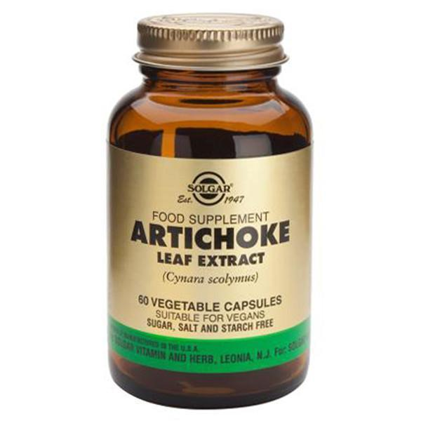 Solgar Artichoke Leaf Extract 60 Vegetable Capsules-Physical Product-Solgar-Supplements.co.nz