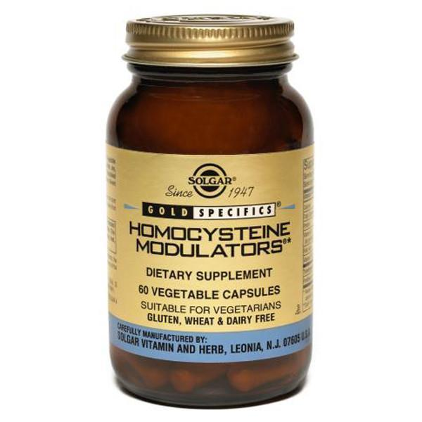 Solgar Homocysteine Modulators 60 Vegetable Capsules-Physical Product-Solgar-Supplements.co.nz