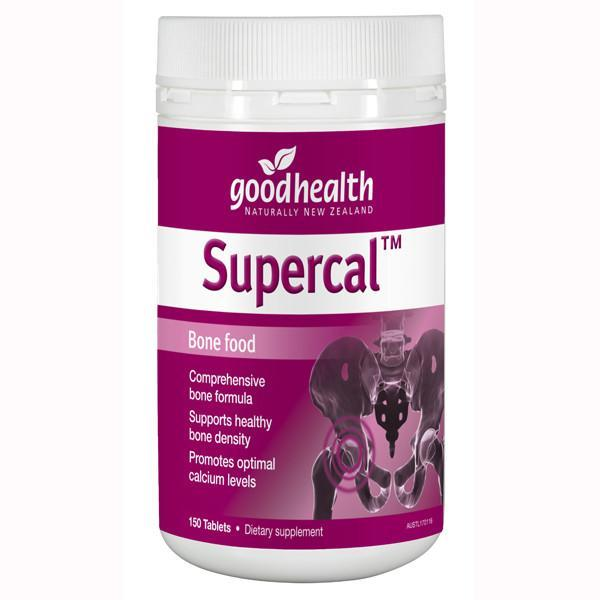 Good Health - Good Health Supercal Bone Food 150 Capsules - Supplements.co.nz