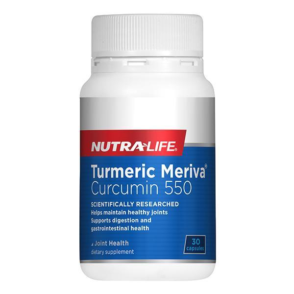 Nutralife Turmeric Meriva® Curcumin 550 30 Caps - Supplements.co.nz