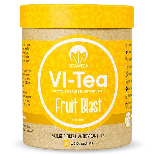 Vitawerx Vi-Tea 50 Servings-Physical Product-Vitawerx-Fruit Blast-Supplements.co.nz
