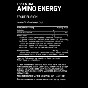 Optimum Nutrition Amino Energy 65 Serves - Supplements.co.nz