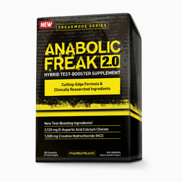PharmaFreak Anabolic Freak 2.0 180 Caps