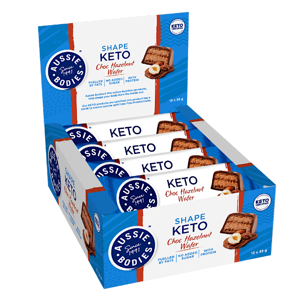 Aussie Bodies Shape Keto Bars 35g x12