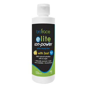BioTrace Elite Ion-Power with Zest 240ml - Supplements.co.nz