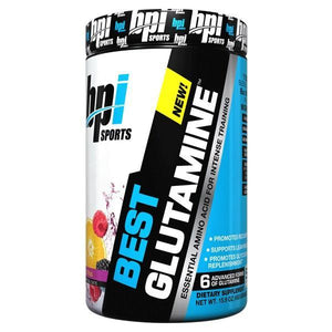 BPI Best Glutamine 50 Serves-Physical Product-BPI-Berry Citrus-Supplements.co.nz