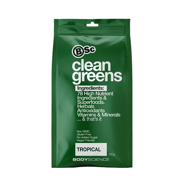 BSc Body Science Clean Greens 150g