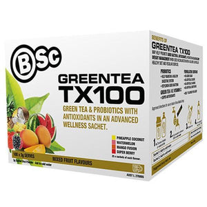 BSC Body Science Green Tea TX100 100 Serves - Supplements.co.nz