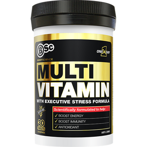 BSc Body Science Multi Vitamin 30 Tabs