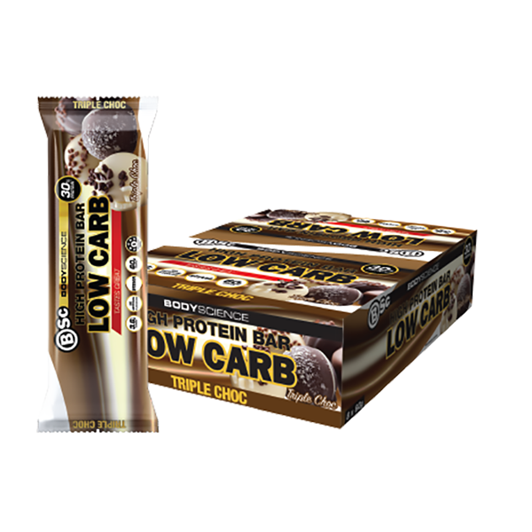 Bsc Body Science High Protein Low Carb Bars 8 X 60g Supplements Co Nz