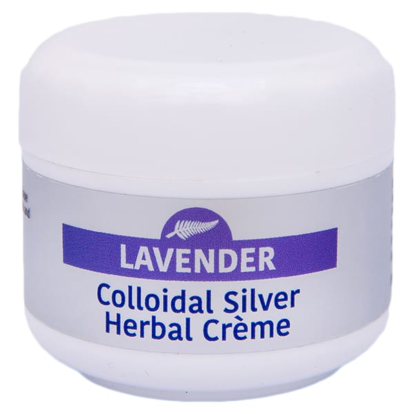 CHS The Skin Solution - 50g Lavender Colloidal Silver Creme
