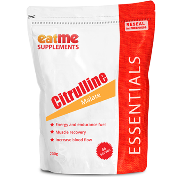 Eat Me Supplements Citrulline Malate 200g - Supplements.co.nz