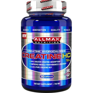 Allmax Nutrition Creatine Hydrochloride 90 Capsules - Supplements.co.nz
