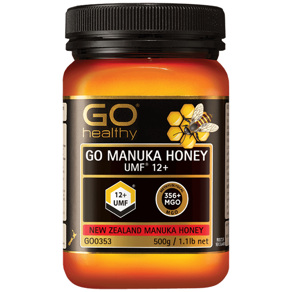 Go Healthy Go Manuka Honey UMF 12+ 500g - Supplements.co.nz