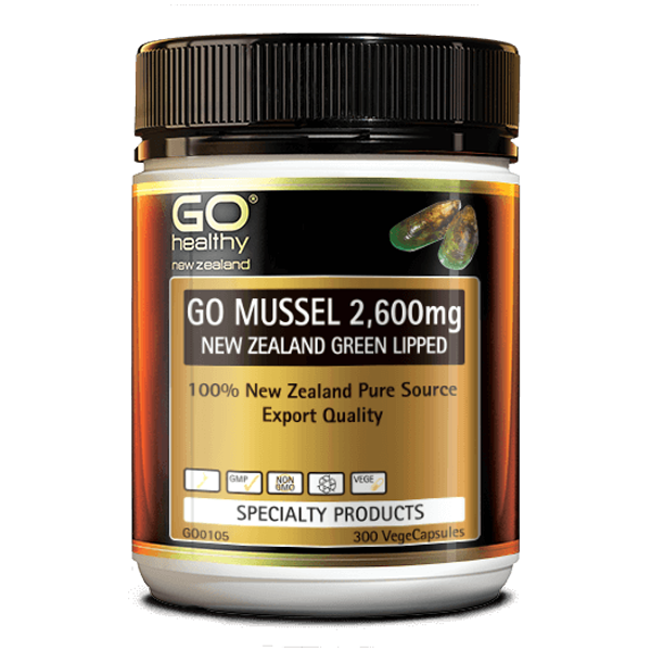 Go Healthy Go Mussel 2,600mg 300 Caps
