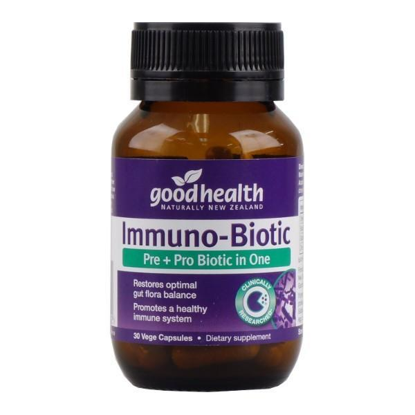 Good Health Immuno-Biotic 30 Capsules - Supplements.co.nz