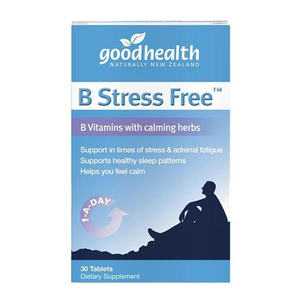 Good Health B Stress Free 30 Tablets - Supplements.co.nz