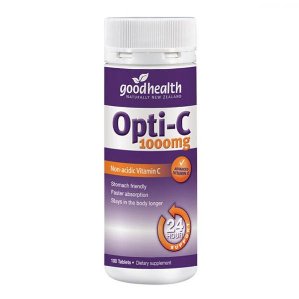 Good Health Opti-C 1000mg 100 Tablets - Supplements.co.nz