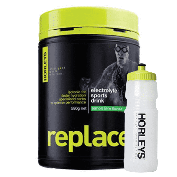 Horleys Replace 580g + FREE Sports Bottle