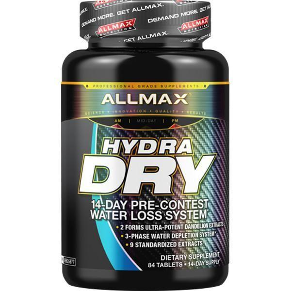 Allmax Nutrition Hydra Dry 84 Tablets - Supplements.co.nz